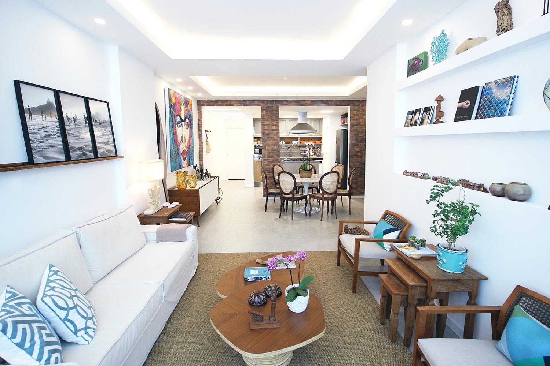 Sala / Cozinha - Apartamento LA